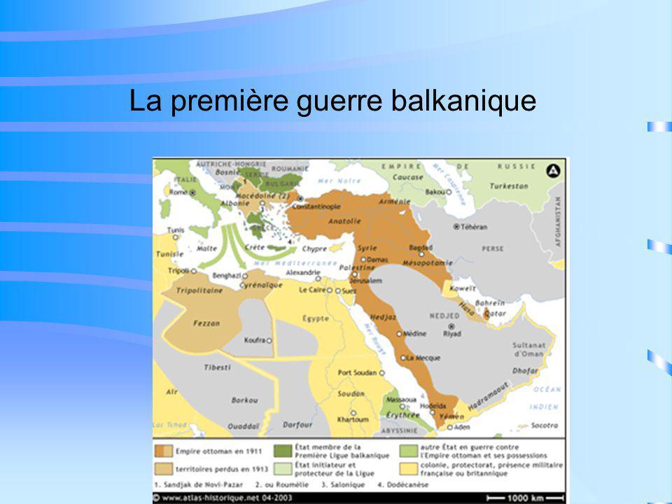 La première guerre balkanique