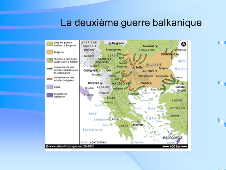 La deuxième guerre balkanique