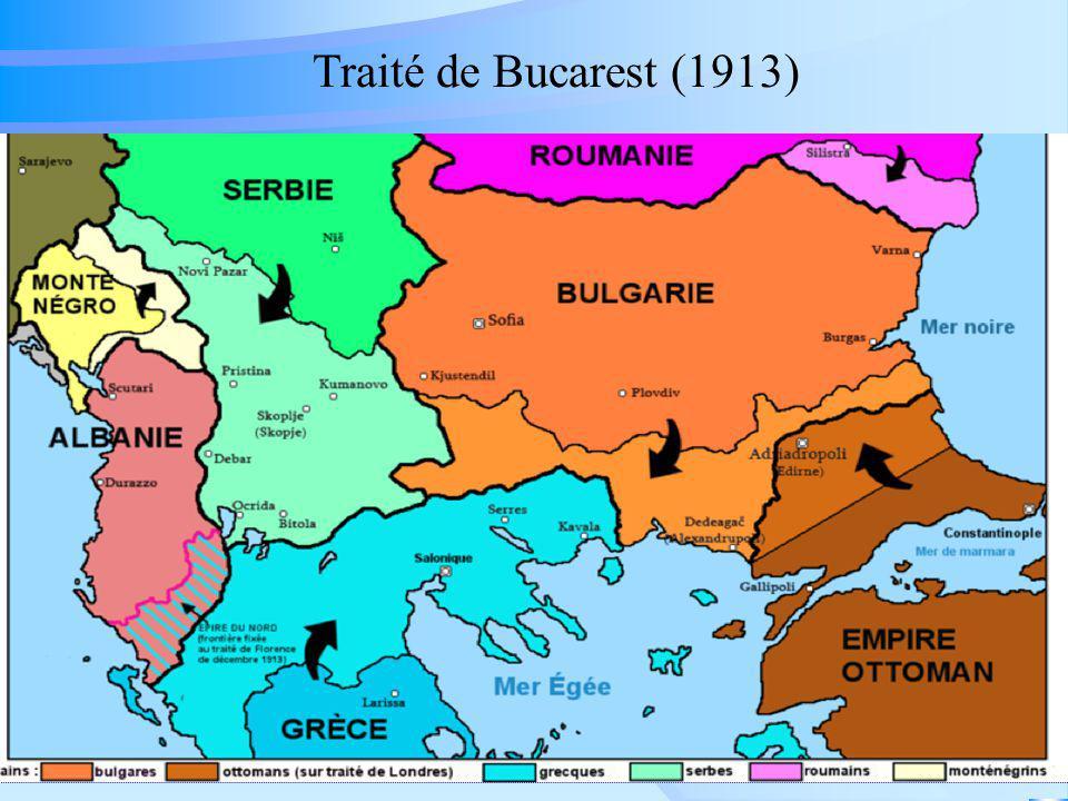 Traité de Bucarest (1913)