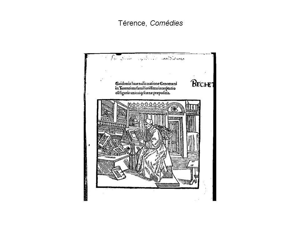 Térence, Comédies