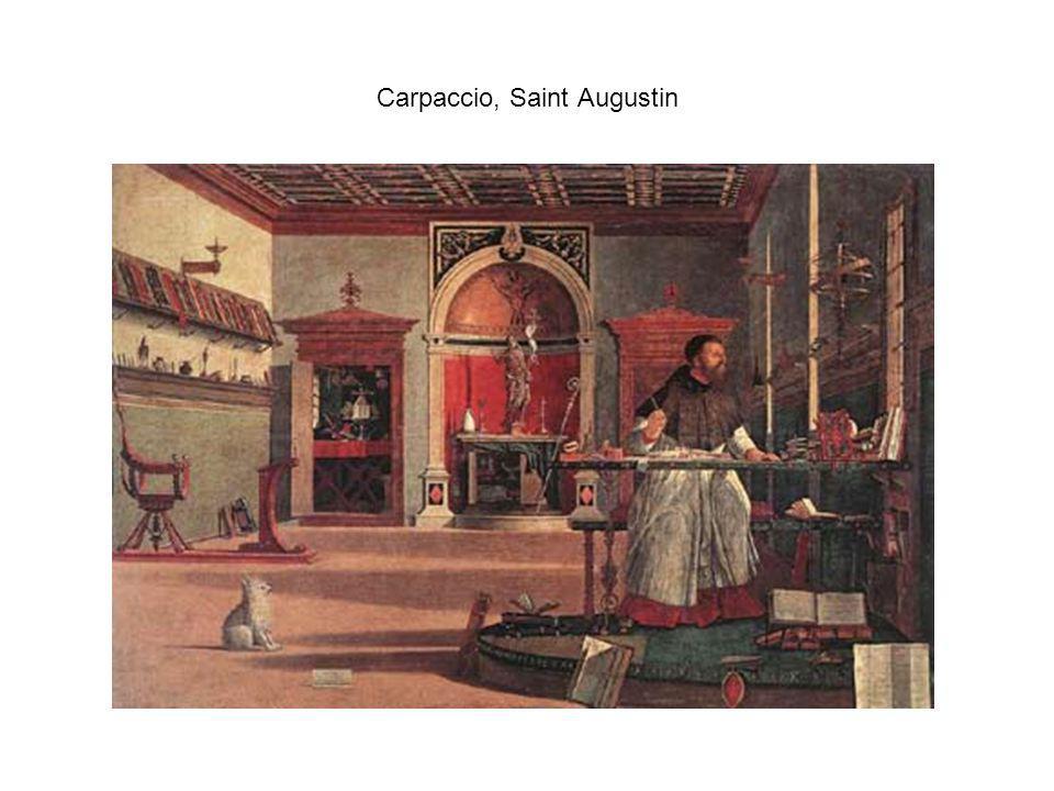 Carpaccio, Saint Augustin