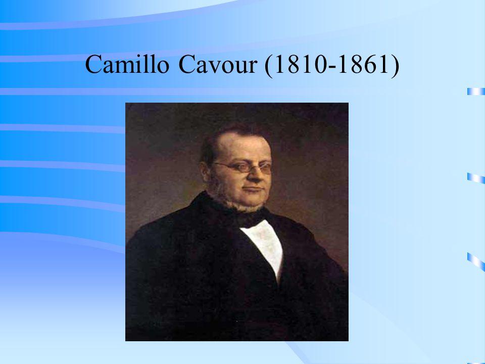 Camillo Cavour (1810-1861)