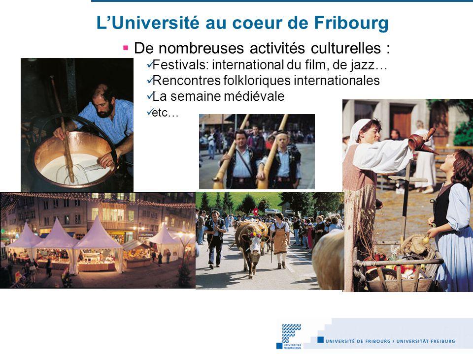 L'Université au coeur de Fribourg