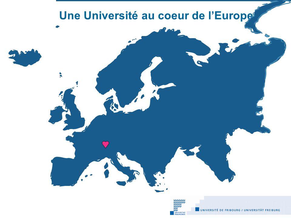 Une Université au coeur de l'Europe