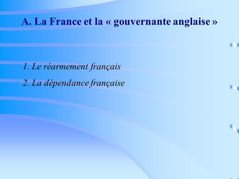 A. La France et la « gouvernante anglaise »