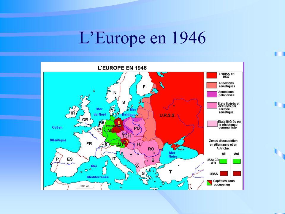 L'Europe en 1946