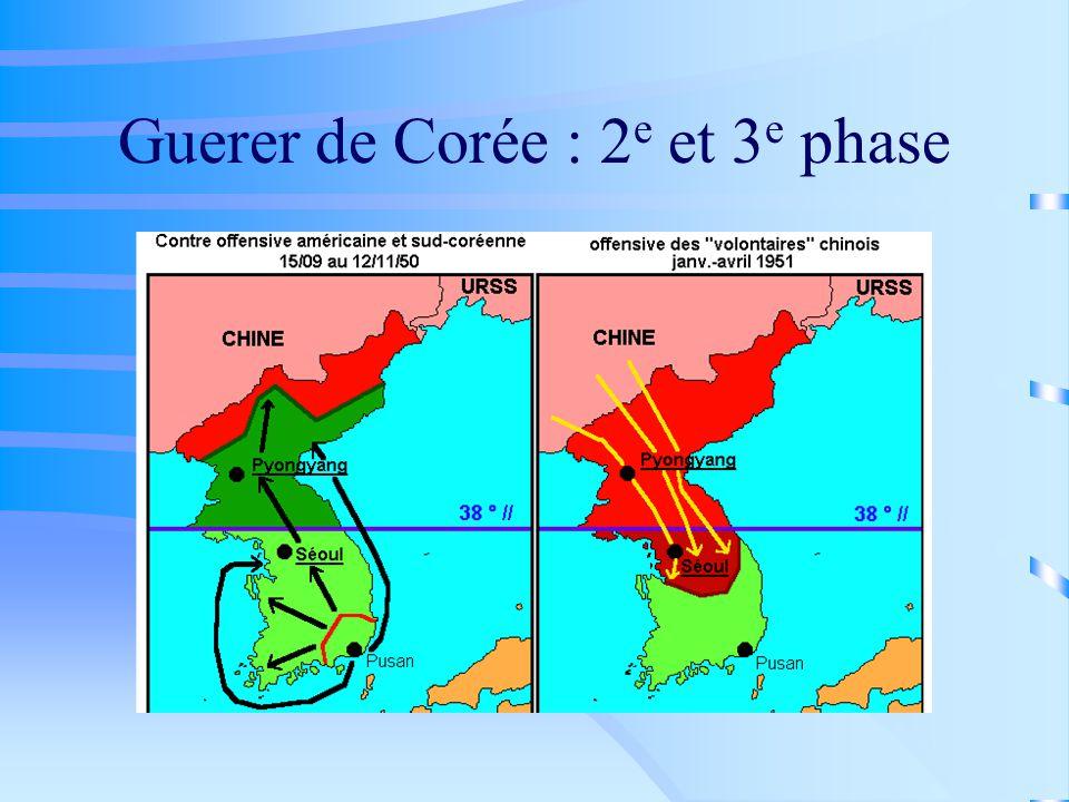 Guerer de Corée : 2e et 3e phase