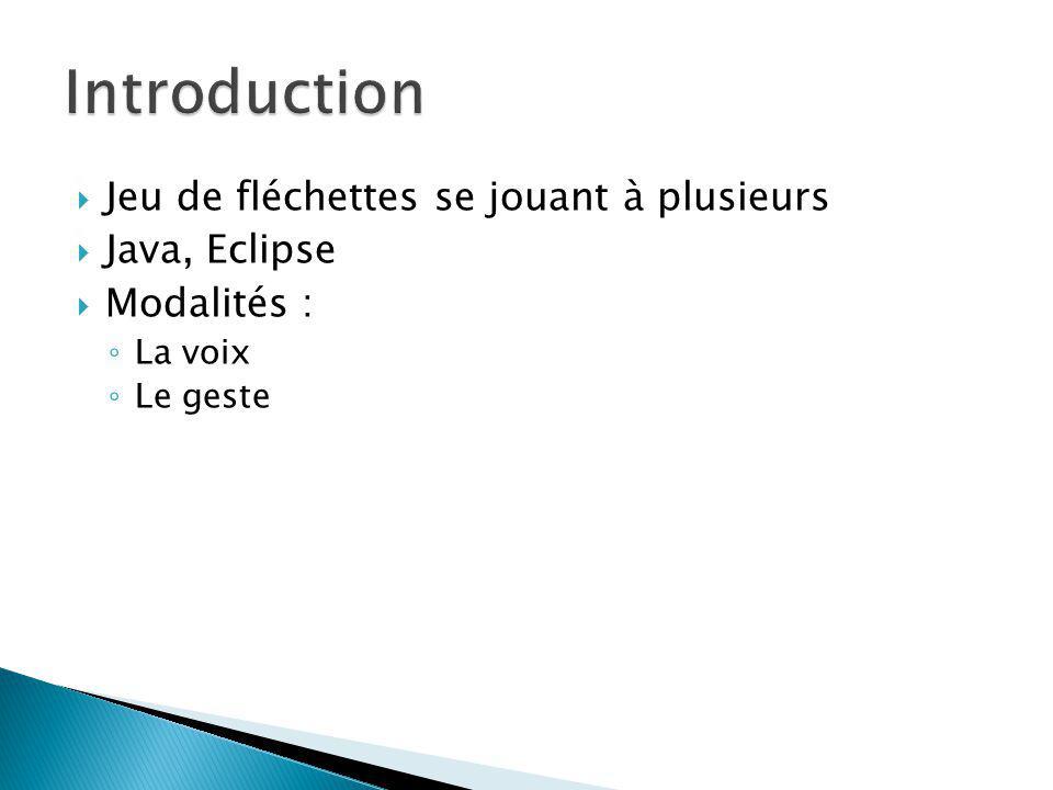 Introduction Jeu de fléchettes se jouant à plusieurs Java, Eclipse