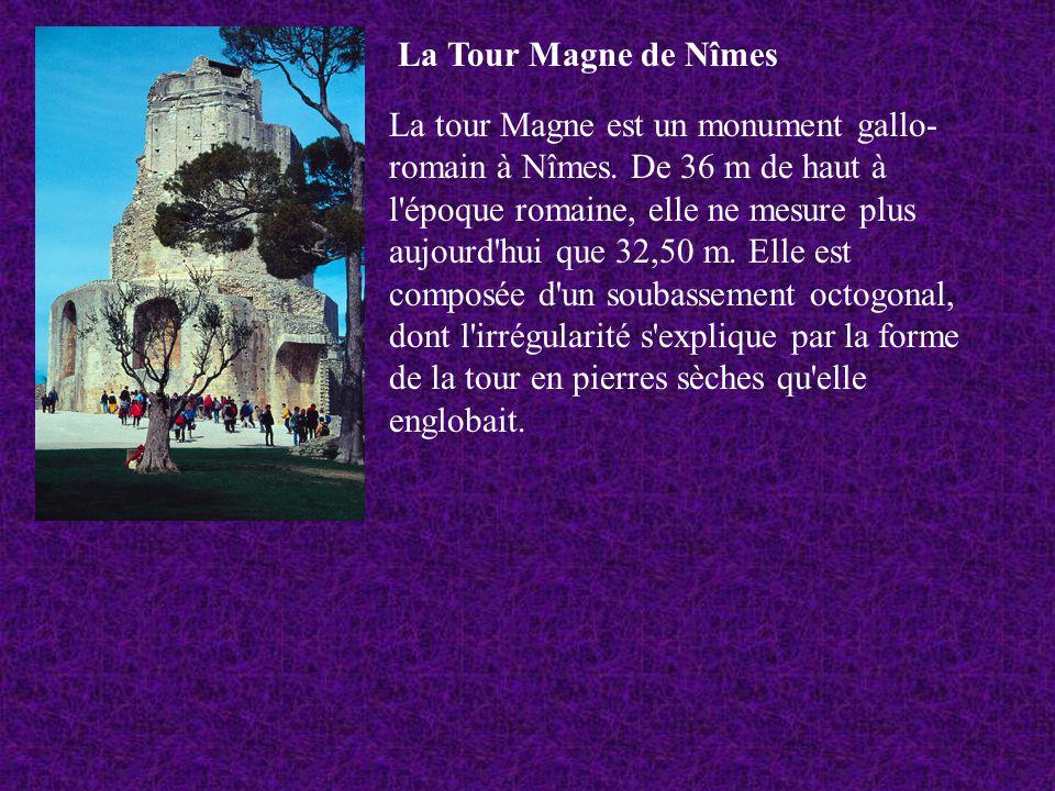 La Tour Magne de Nîmes