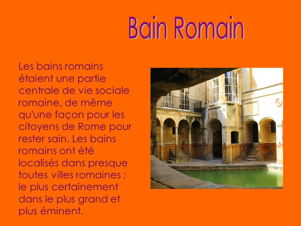 Bain Romain