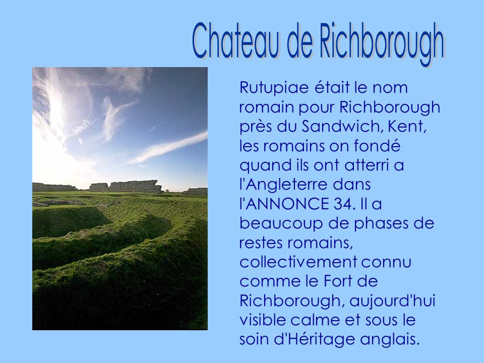 Chateau de Richborough