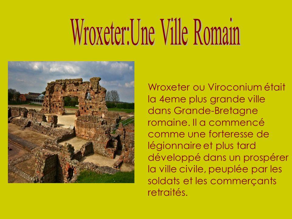 Wroxeter:Une Ville Romain