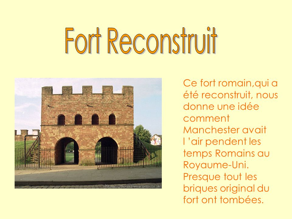 Fort Reconstruit