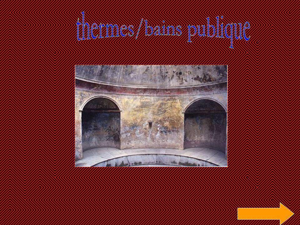 thermes/bains publique