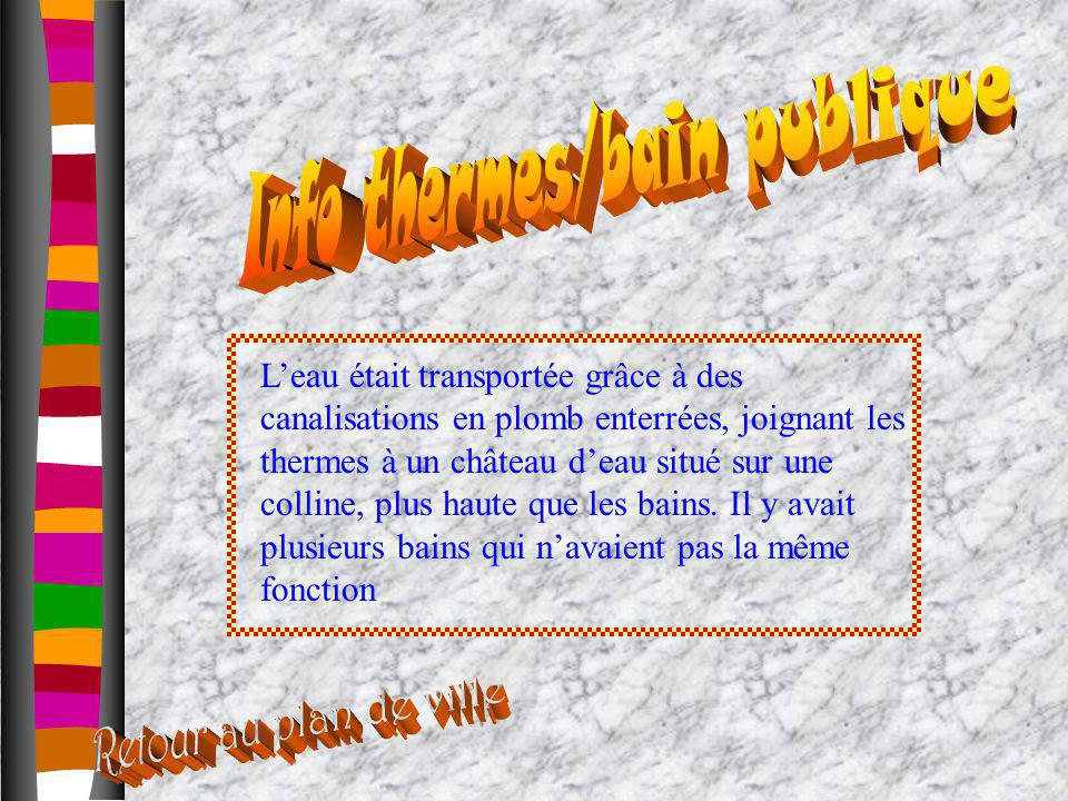 Info thermes/bain publique