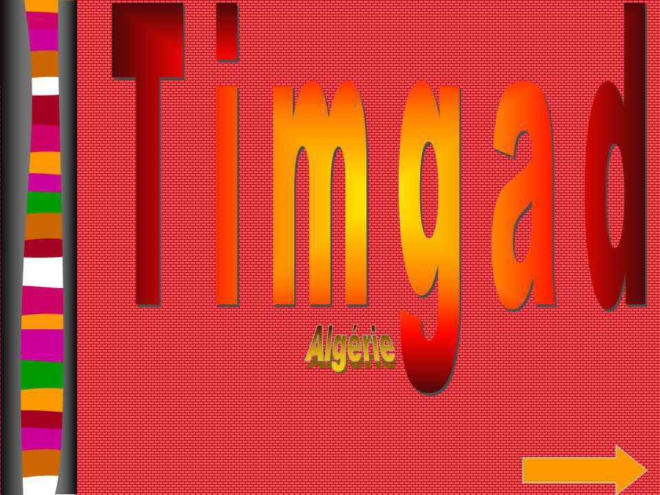 Timgad Algérie