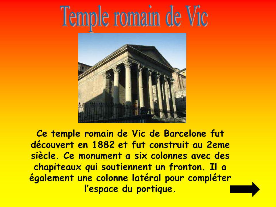 Temple romain de Vic