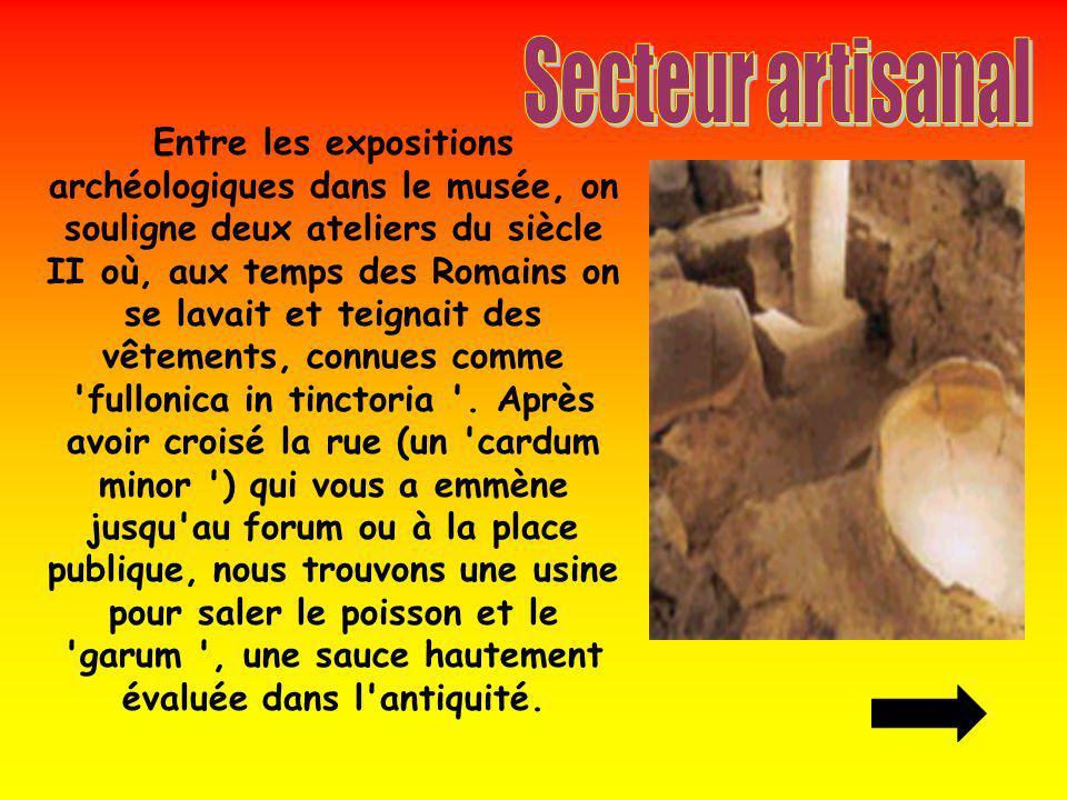 Secteur artisanal