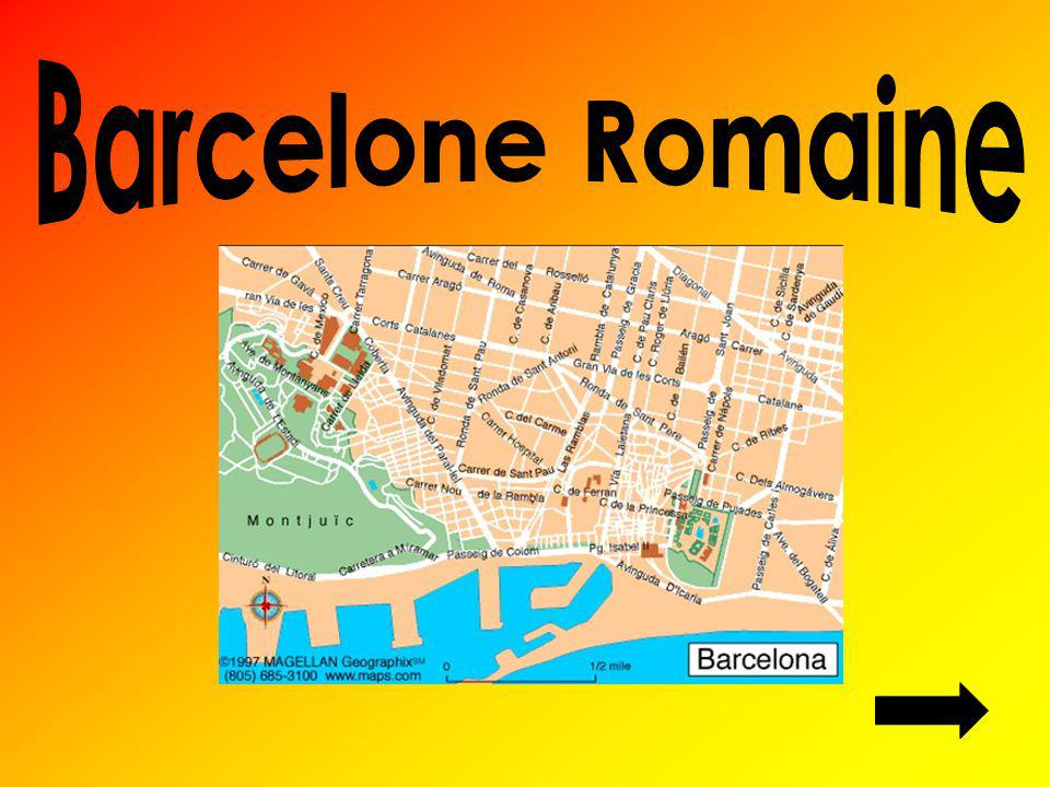 Barcelone Romaine
