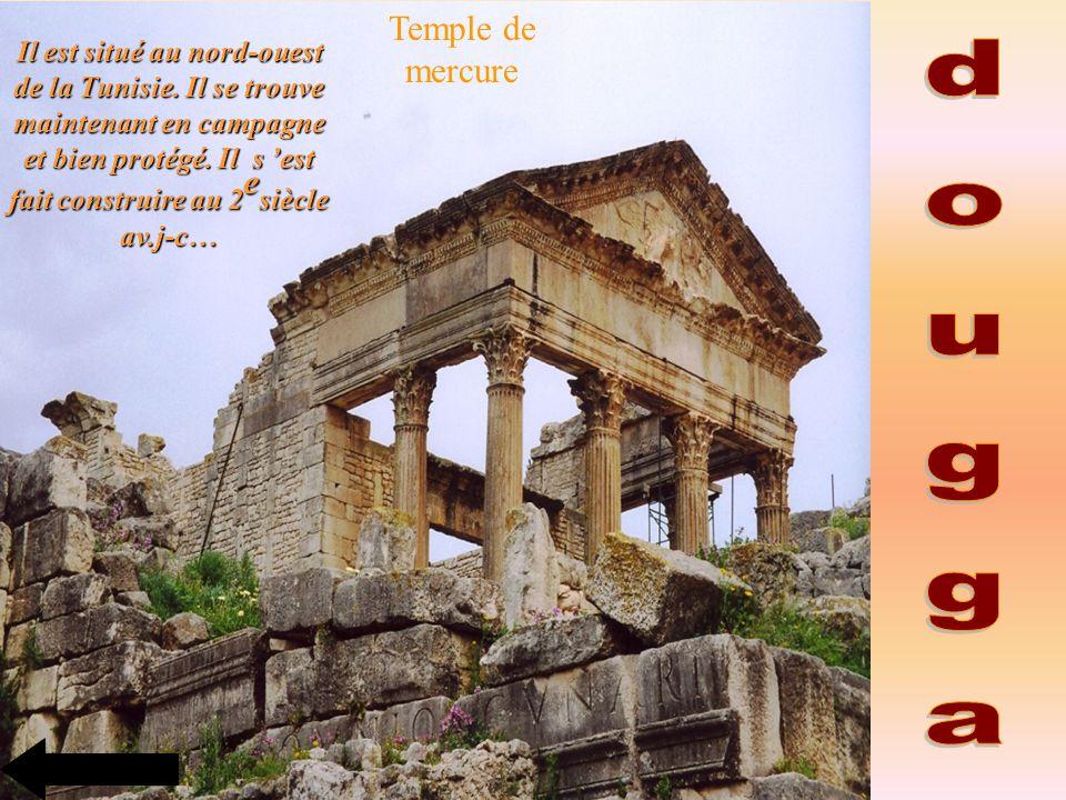 dougga Temple de mercure