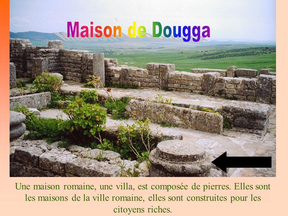 Maison de Dougga