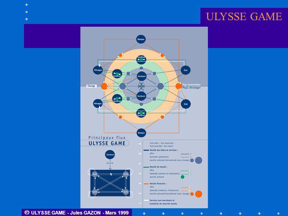 ULYSSE GAME  ULYSSE GAME - Jules GAZON - Mars 1999