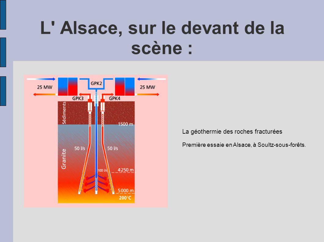 L Alsace, sur le devant de la scène :
