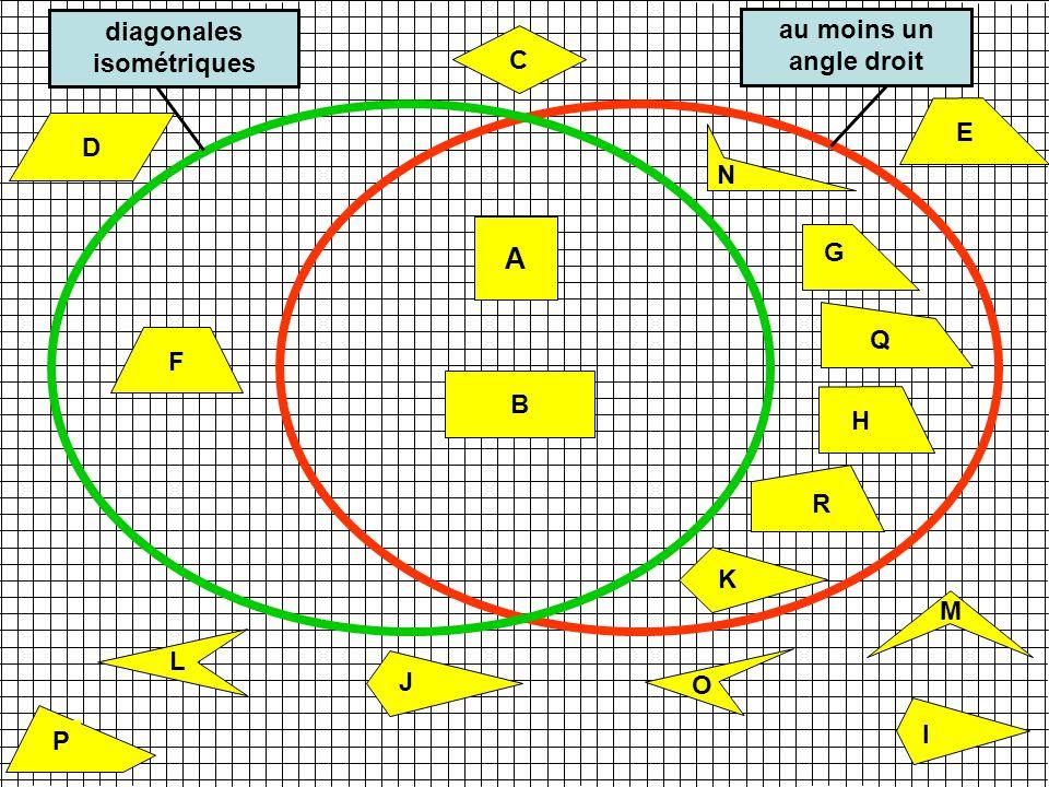 diagonales isométriques