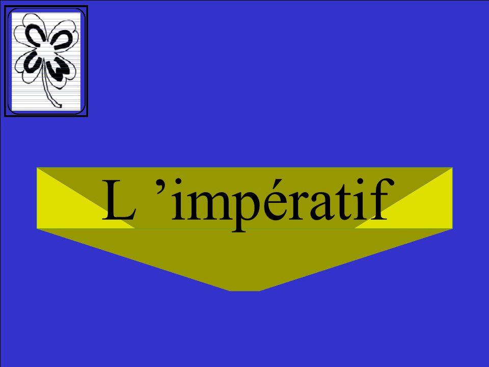L 'impératif 1