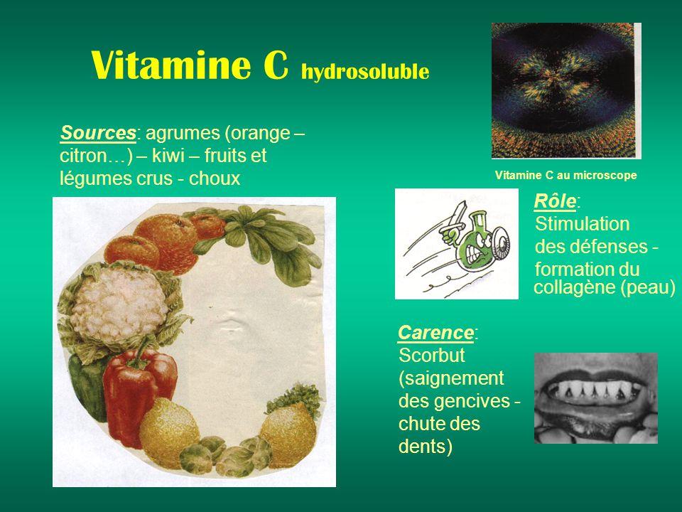 Vitamine C hydrosoluble