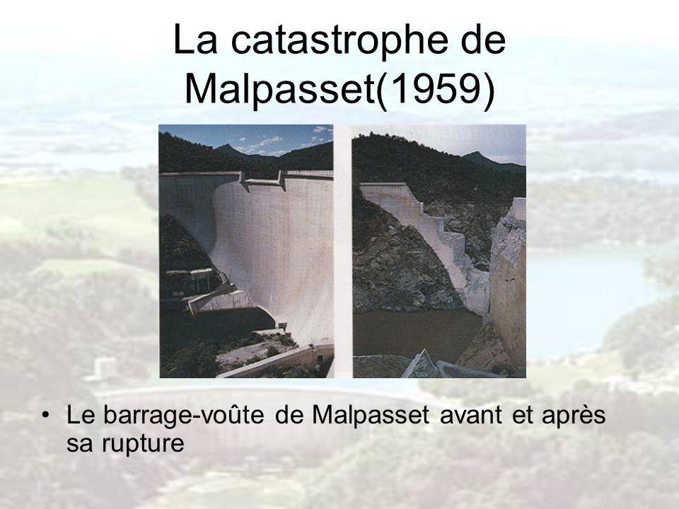 La catastrophe de Malpasset(1959)