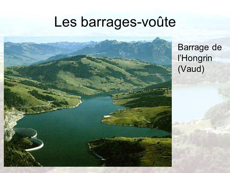 Les barrages-voûte Barrage de l'Hongrin (Vaud)