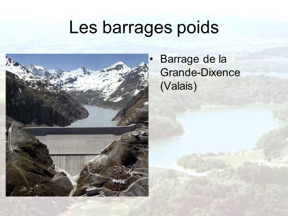 Les barrages poids Barrage de la Grande-Dixence (Valais)