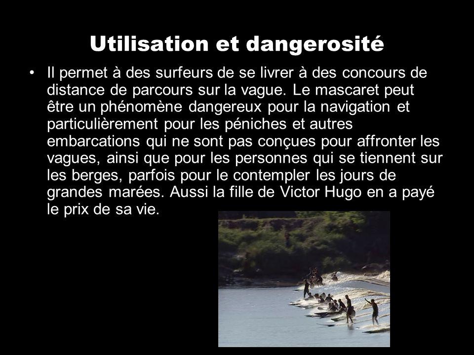 Utilisation et dangerosité