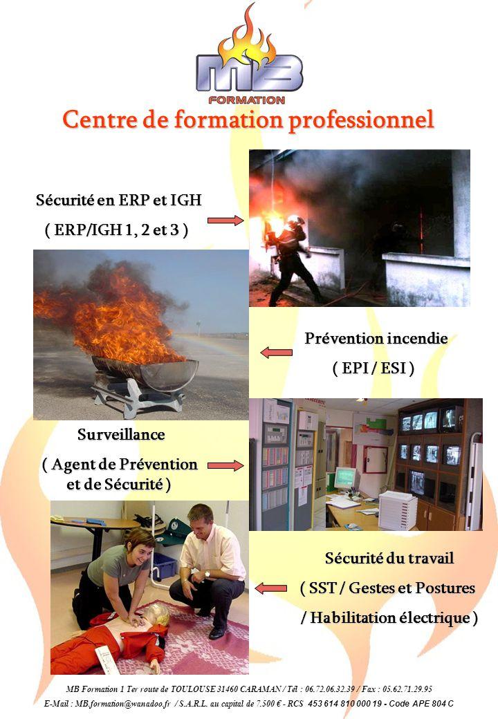 Centre de formation professionnel