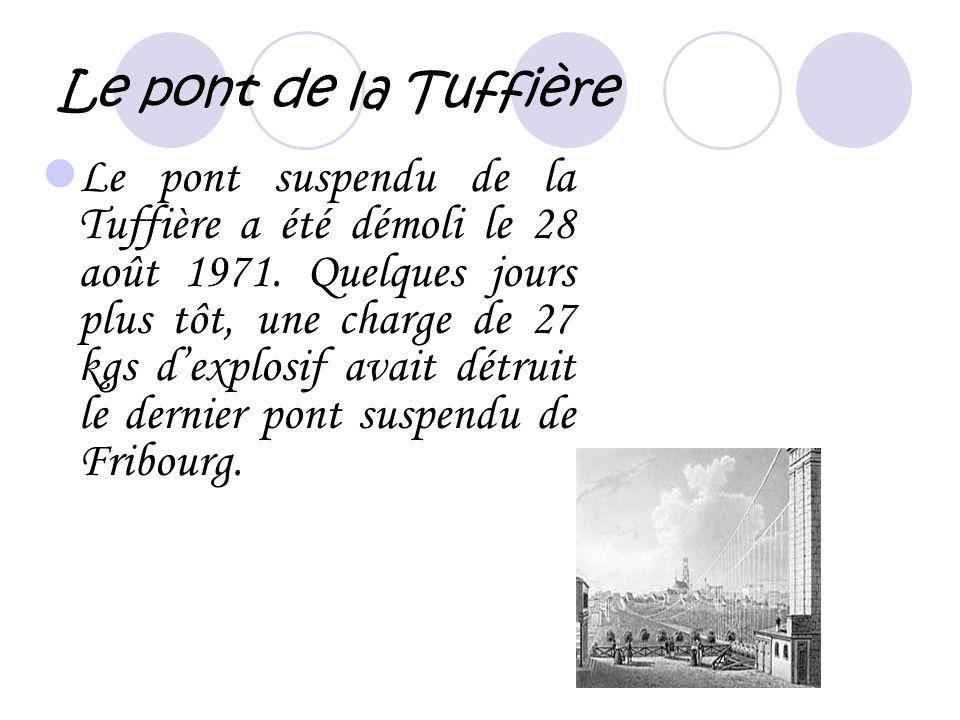 Le pont de la Tuffière