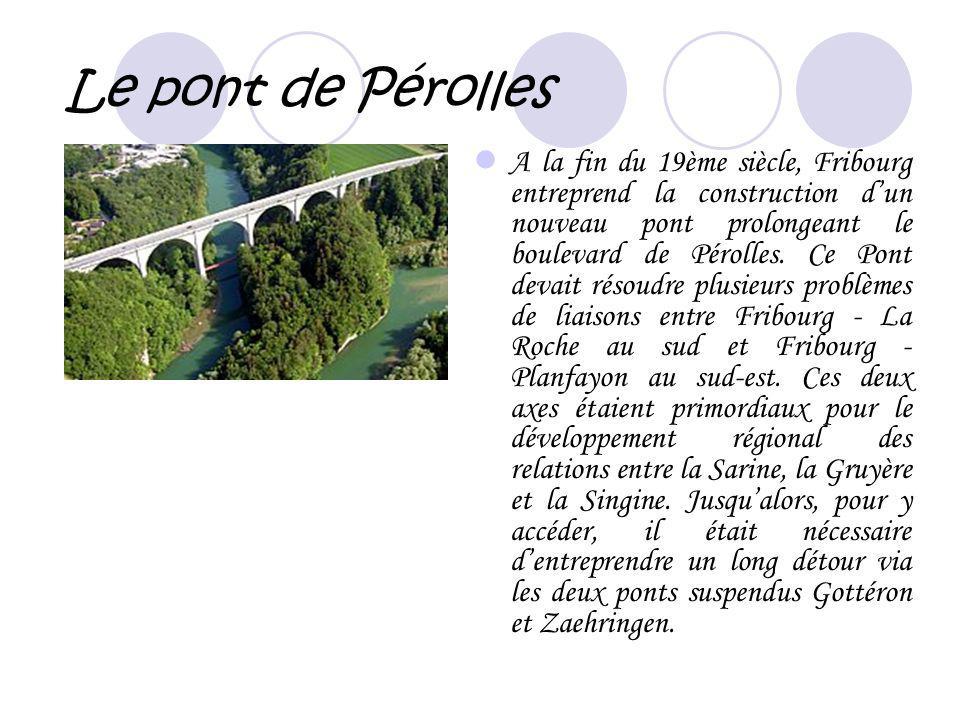 Le pont de Pérolles