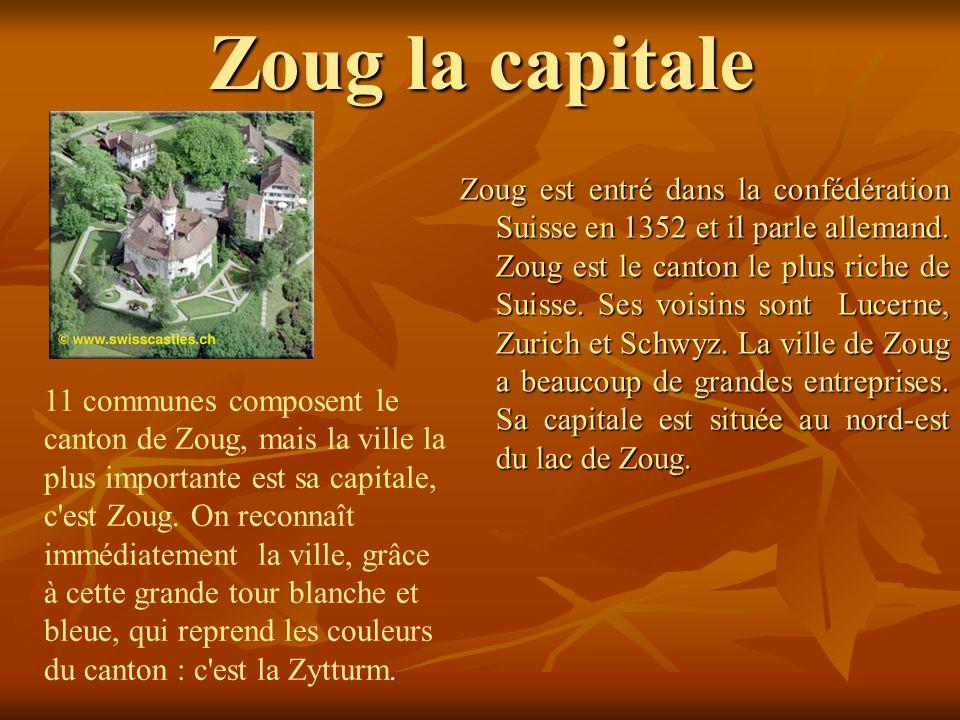 Zoug la capitale