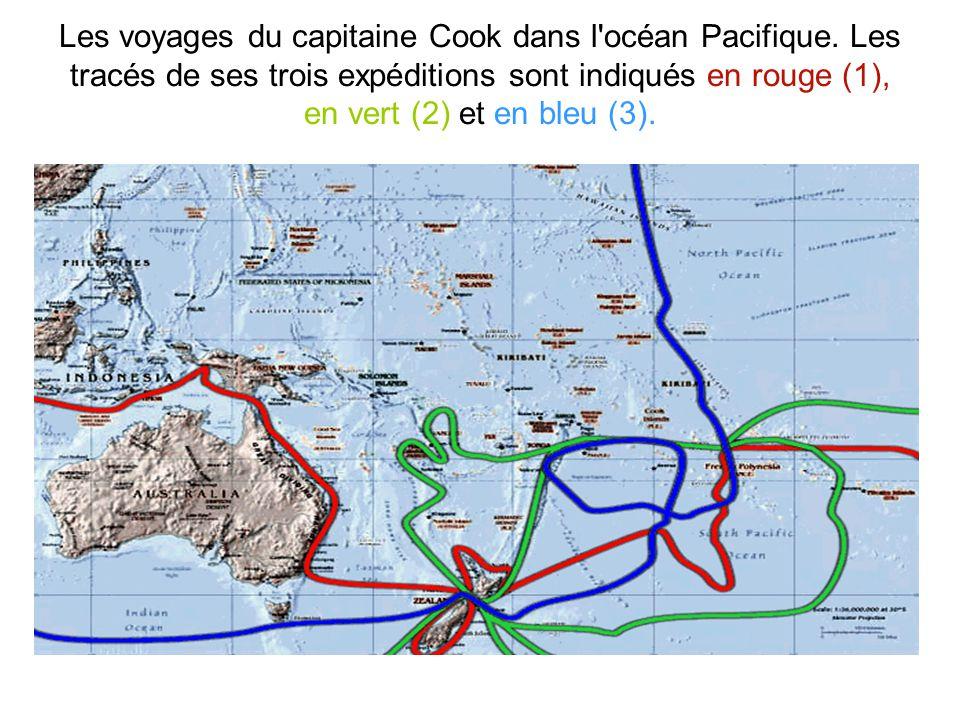 Les voyages du capitaine Cook dans l océan Pacifique