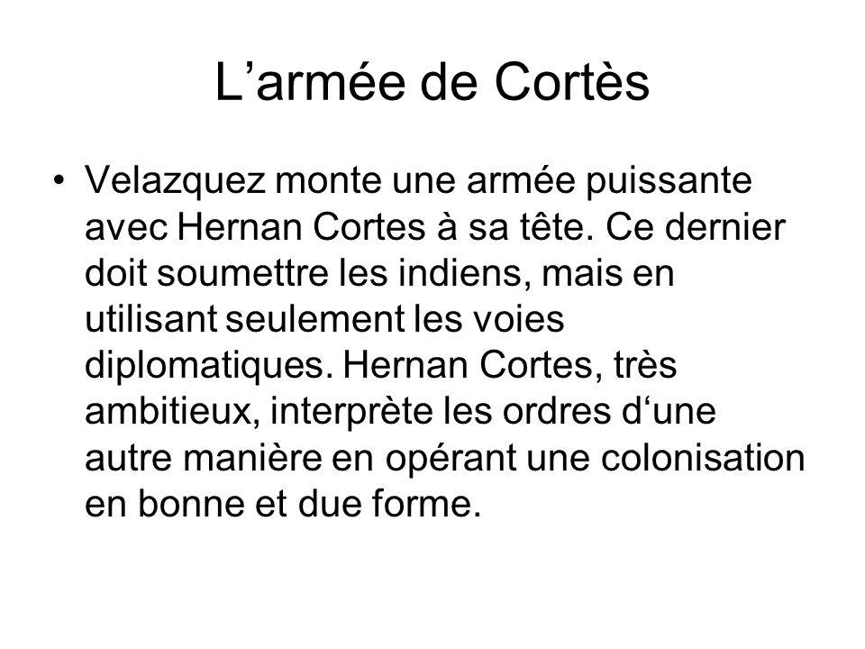 L'armée de Cortès