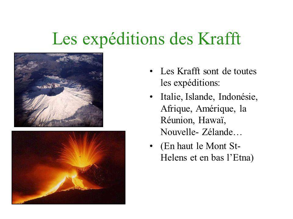 Les expéditions des Krafft