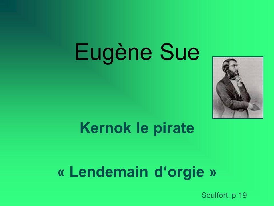 Kernok le pirate « Lendemain d'orgie »