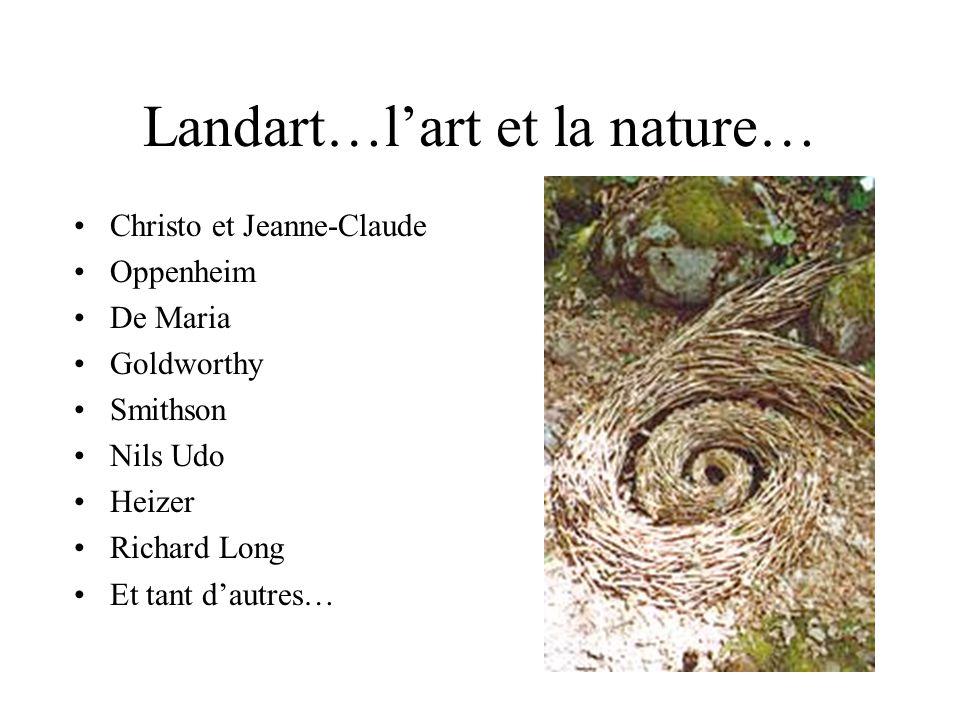 Landart…l'art et la nature…