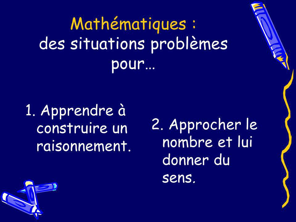 Mathématiques : des situations problèmes pour…