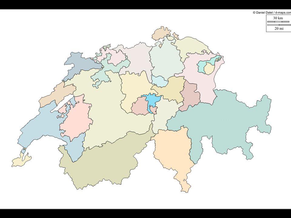 La Suisse et tous ses cantons