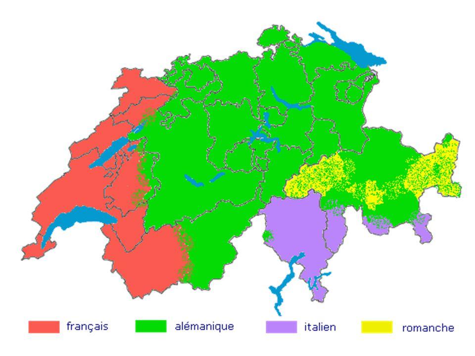 Les langues en Suisse