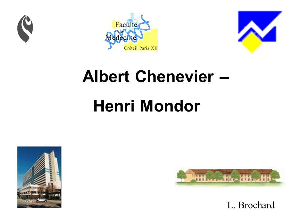 Albert Chenevier – Henri Mondor L. Brochard