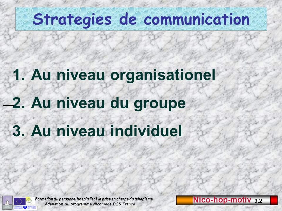 Strategies de communication