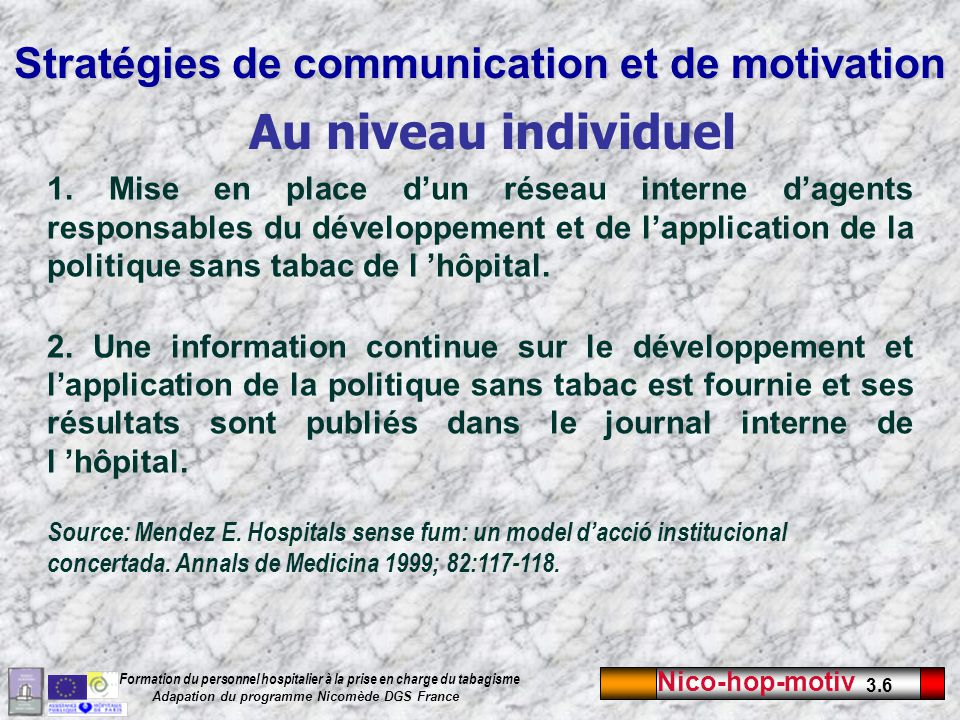 Stratégies de communication et de motivation