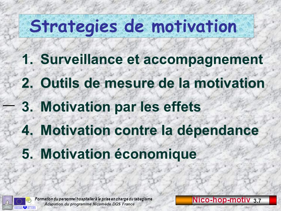 Strategies de motivation